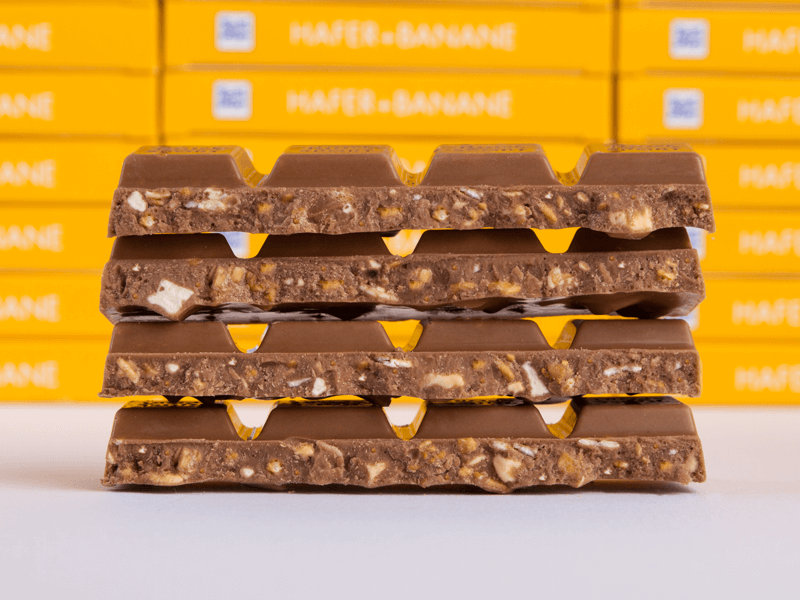 Schokolade Hafer Banane Fan Edition äffle Pferdle Shop